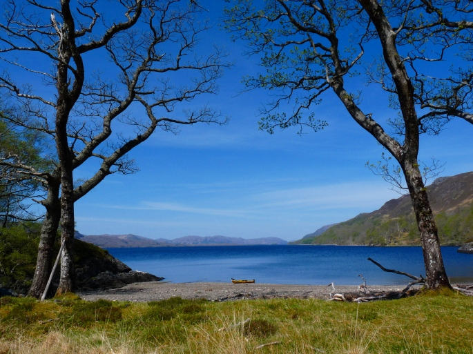 Loch Maree Lunch stop