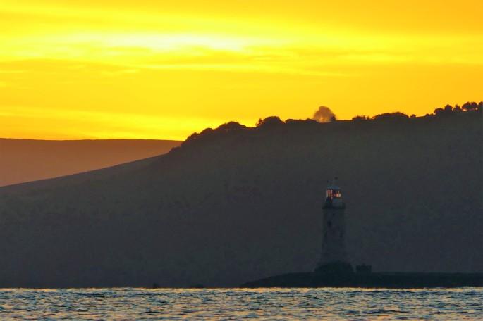 Plymouth sound dawn